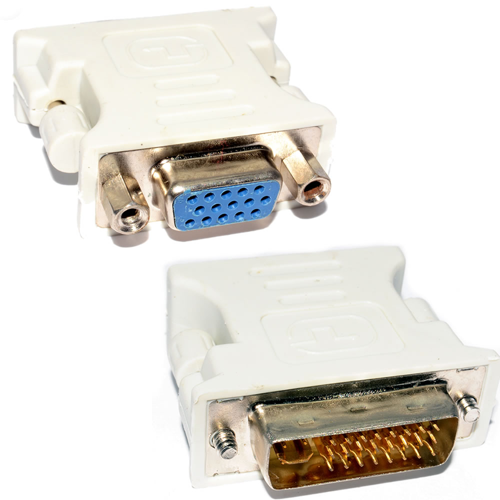 Dvi To Vga 24+5 Connector
