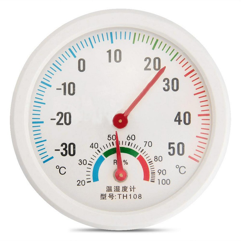 Indoor Outdoor Hygrometer Humidity Thermometer Temperature Meter Gauge