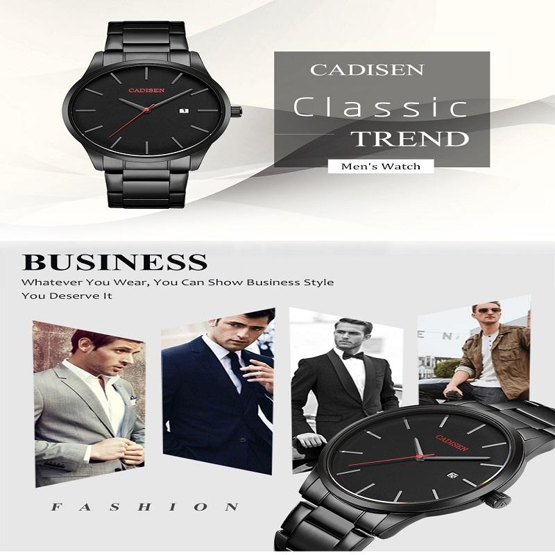 CADISEN Top Luxury Brand Analog sports Wristwatch