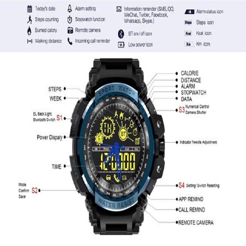LEMFO LF21 Smart Watch Pedometer Smart-watch