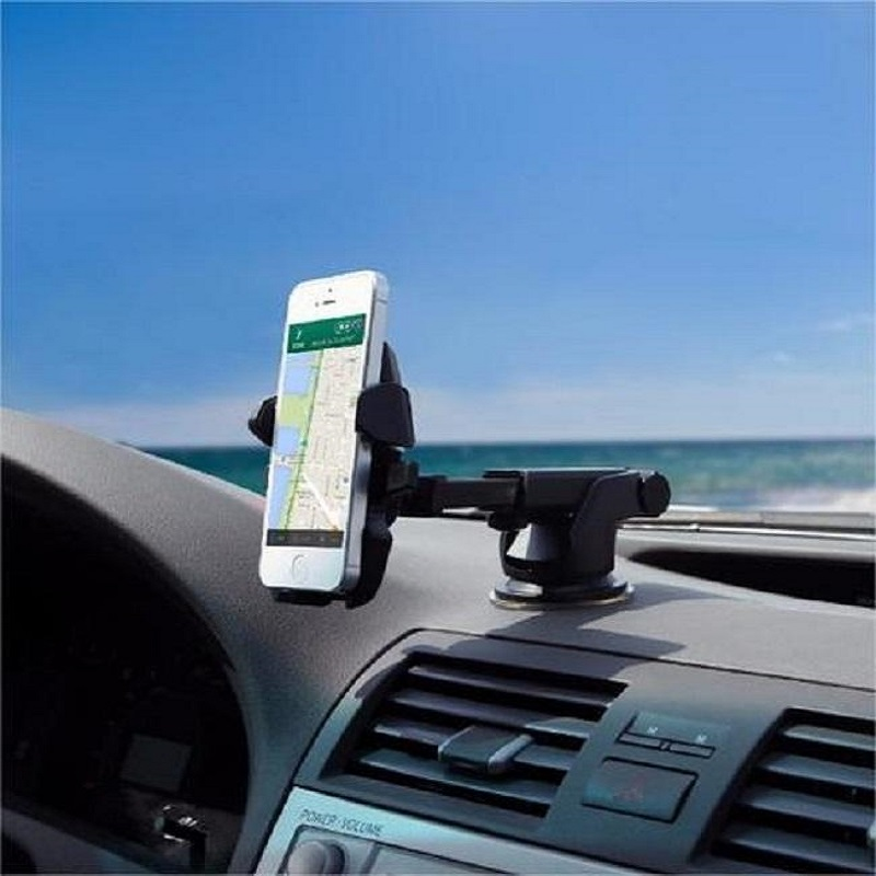 360`Rotating Car Holder For Dashboard & Glass Mobile Phones