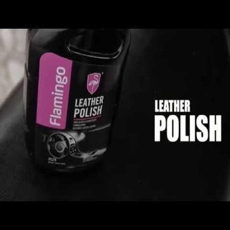 Flamingo Leather Polish Spray