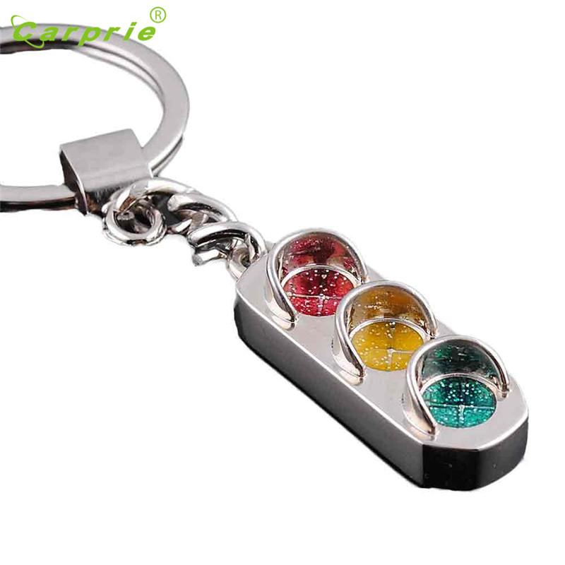 Creative Traffic light Key Chain Ring