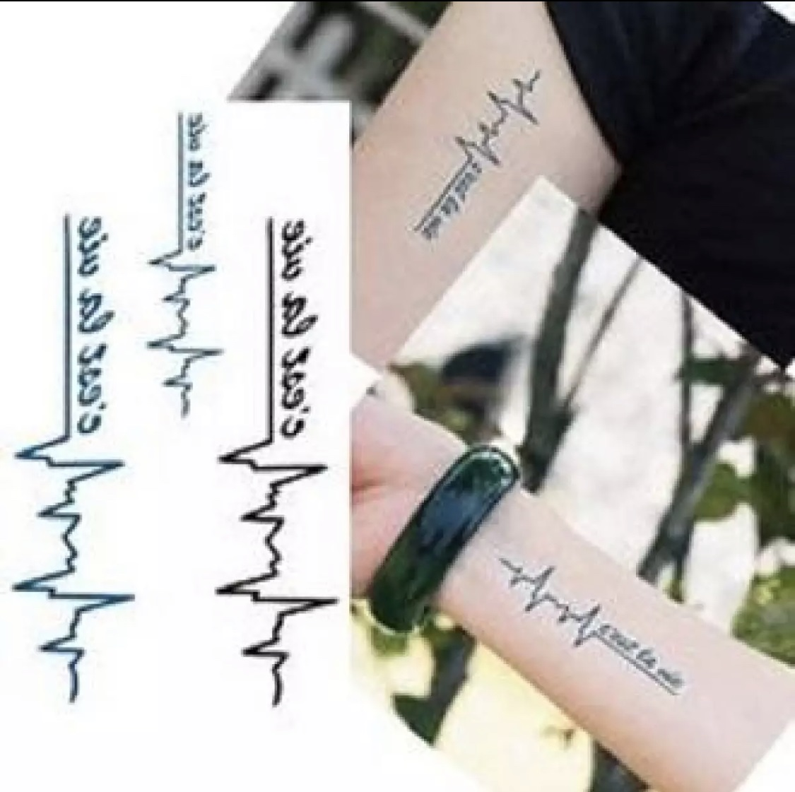 Fla-sh Waterproof Temporary Tattoo Water Proof