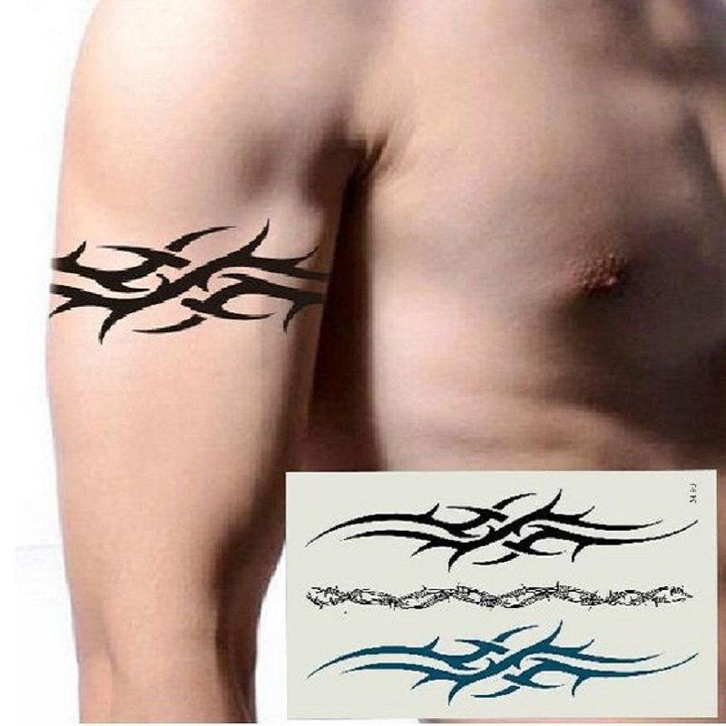 Pack of 3 Noble Lace Tattoo Water Proof Tattoo Body Tattoo