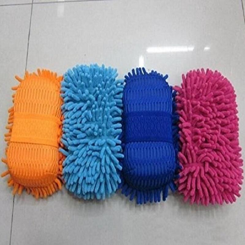 Car Washing Gloves Car Cleaning Sponge Coral Shaped Superfine Fiber Chenille Car Washing Sponge