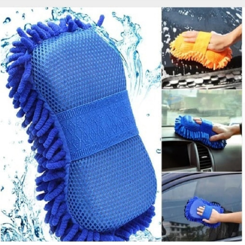 Car Washing Gloves Car Cleaning Sponge Coral Shaped Superfine Fiber Chenille Car Washing Sponge