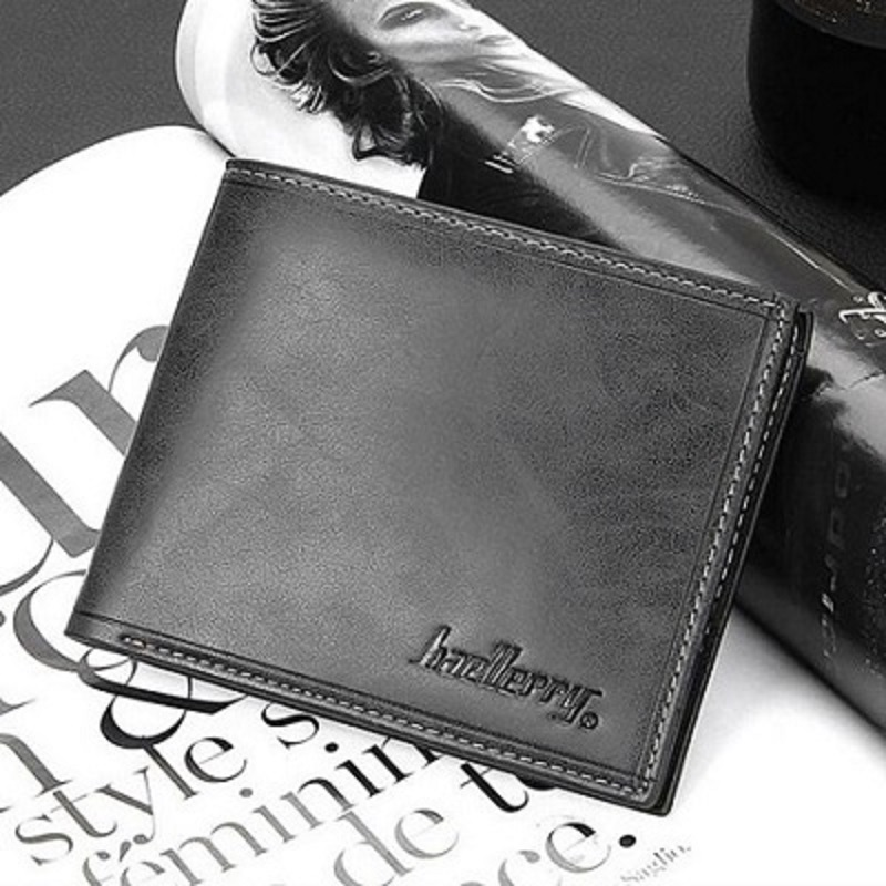 Baellerry Casual Men's Wallet High Quality No Zippers