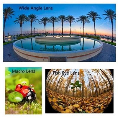 Universal Fisheye Wide Angle Macro Lens Smartphone