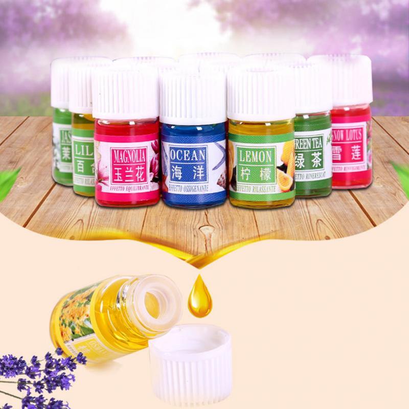 12 Bottles/set 3ML Natural Aroma Fragrance Essential Oil