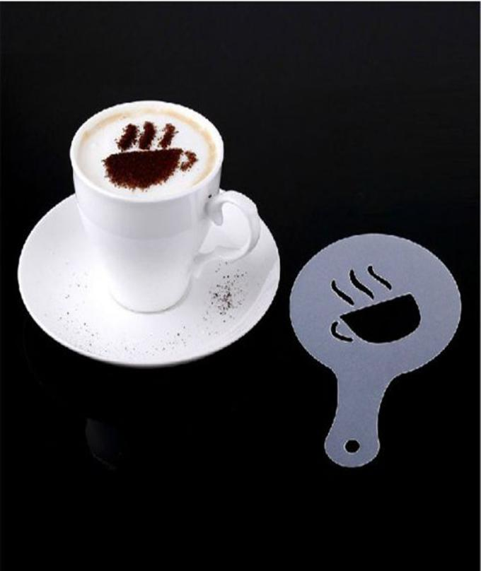 16 Pcs - Creative Nice Coffee Barista Stencils Template