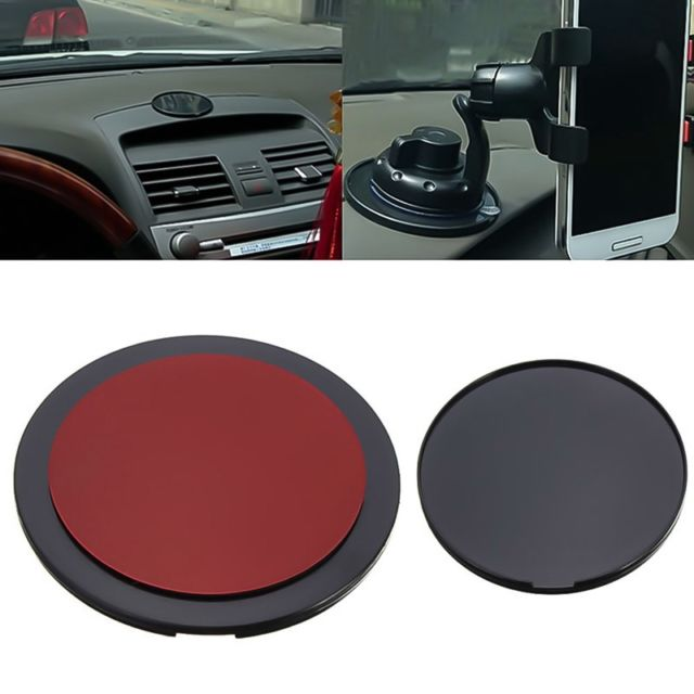 Car Phone Holder GPS Adhesive Sticky Dashboard Suction Cup  Anti slip Pad