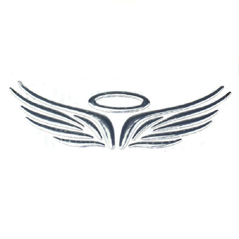 Soft Plastic Wing Car Logo Sliver