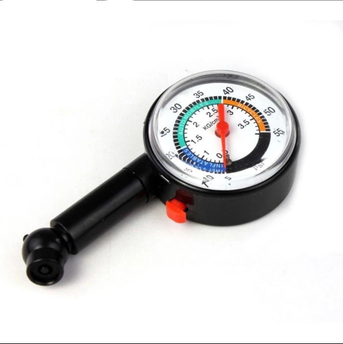 New Auto Motor Car Truck Bike Tyre  Air Pressure Gauge Meter