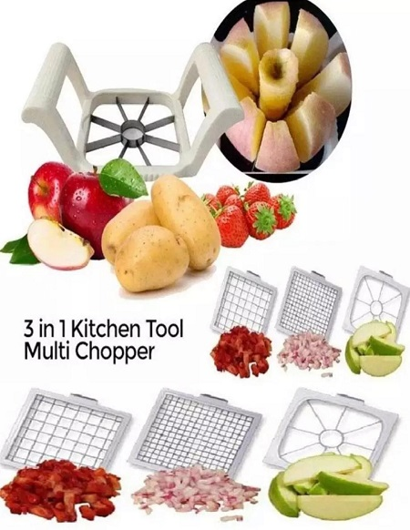 Apple/ Mango/ Potato/ Tomato And Other Fruits And Vegetable Cutter Also French Fries Cutter
