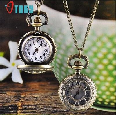 Pendant Chain Watch for Women Quartz Watches