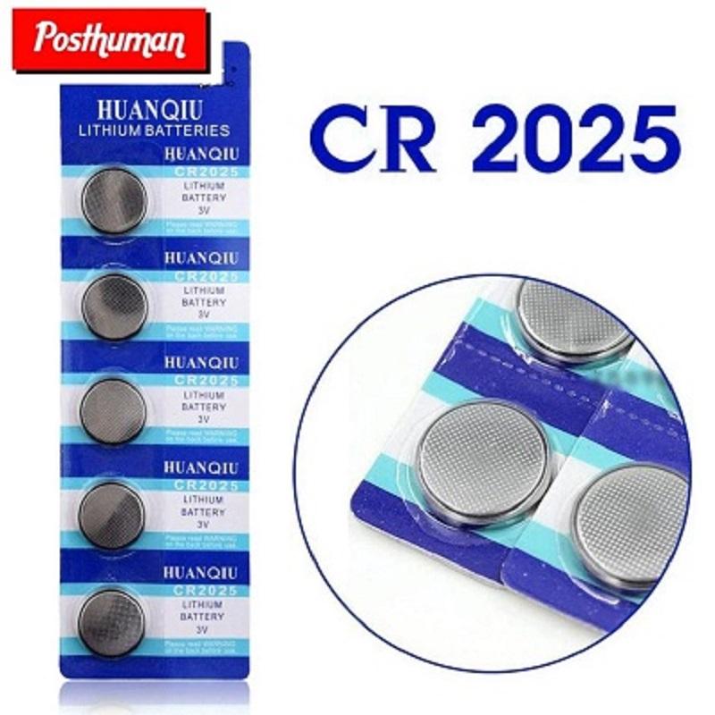 CR2025 5pcs 3V Lithium Button Coin Cells