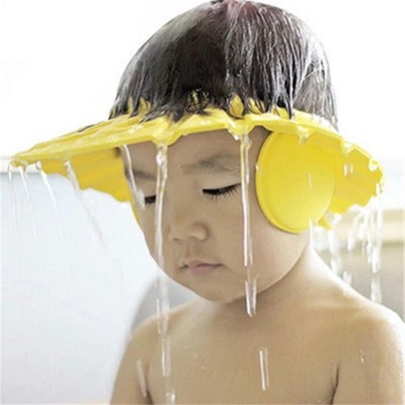 Safe Foam Shampoo Cap For Children Bathing Shower Cap