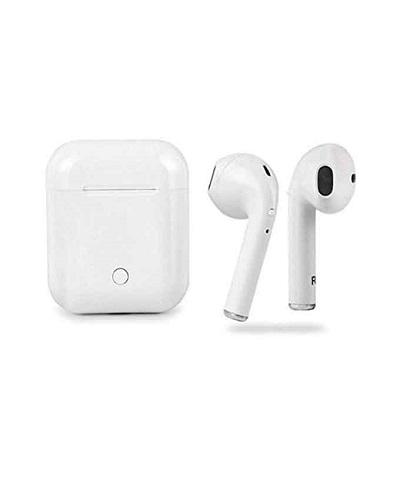 Twin True I9S Wireless Bluetooth V4.2 Earbuds with Magnetic Charging Box - White