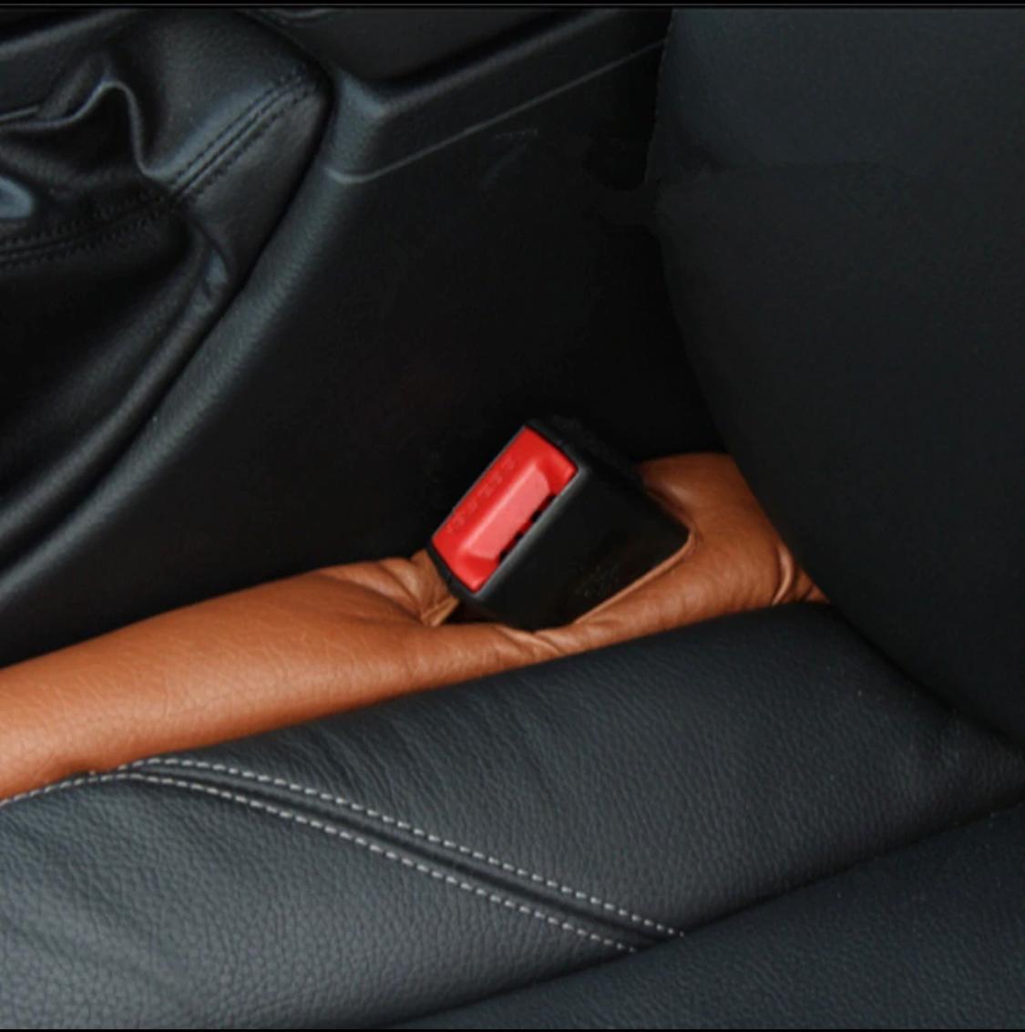 2 Pcs Car Seat Gap Pad Leak Proof Plate Plug Seat Leak Cover