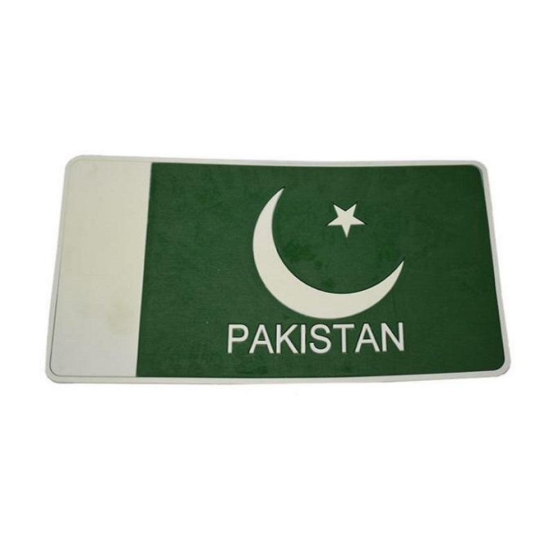 Anti Slip Non Slip Mat Pakistan Flag 10 Inch *5 Inch ATS-0109