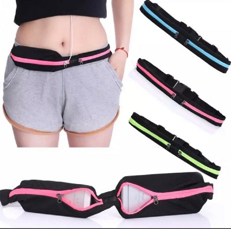 Waist Pocket Jogging Sports Portable Waterproof Money Phone Anti-Theft Pack Belt Bag