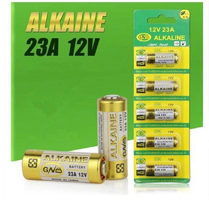 5 Pcs 23A 12 V Dry Alkaline Battery