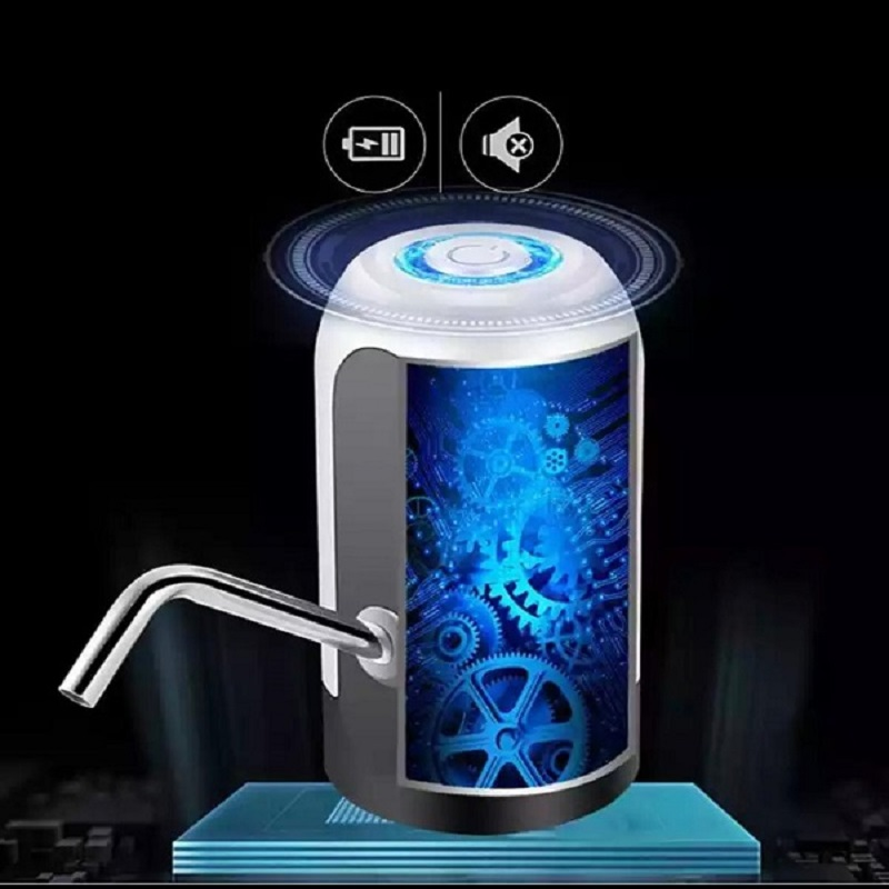 Smart USB Charge Electric Water Treatment Portable Bottle Pump