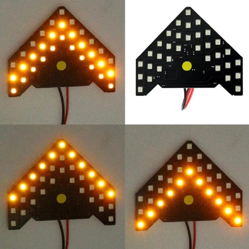 2 Pcs Car Side Replicate Arrow Form 33 SMD LED light