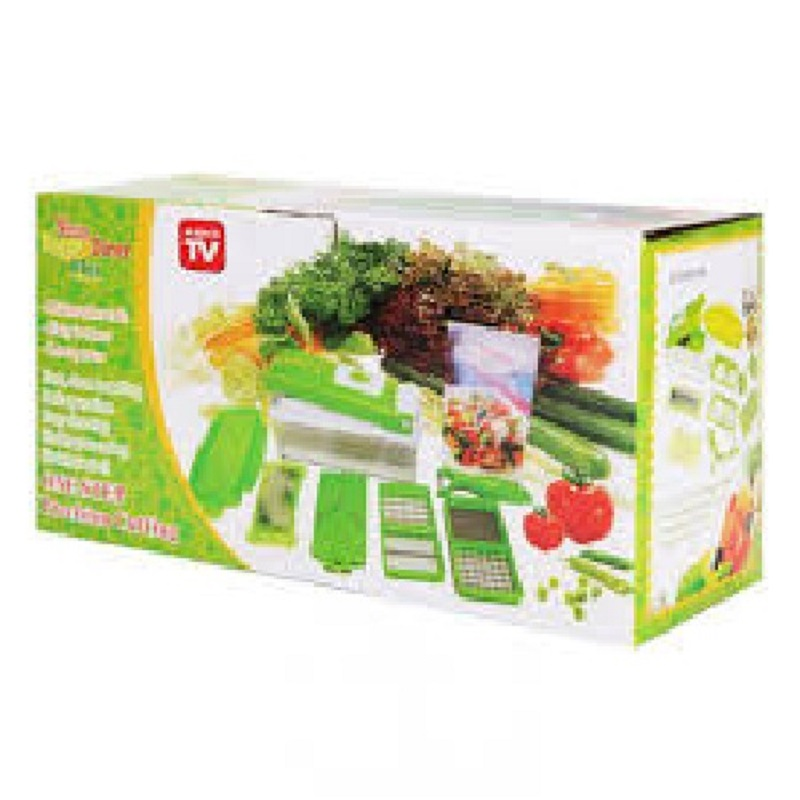 Nicer Dicer Plus Vegetable and Fruit Cutter - Green