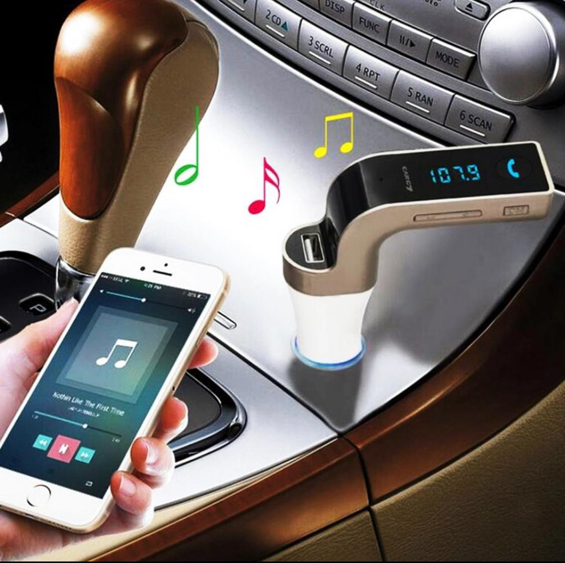 USB Bluetooth AUX Car Kit Handsfree Music Adapter MP3 Player Car Charger Cigarette Lighter FM Transmitter Bluetooth Receiver