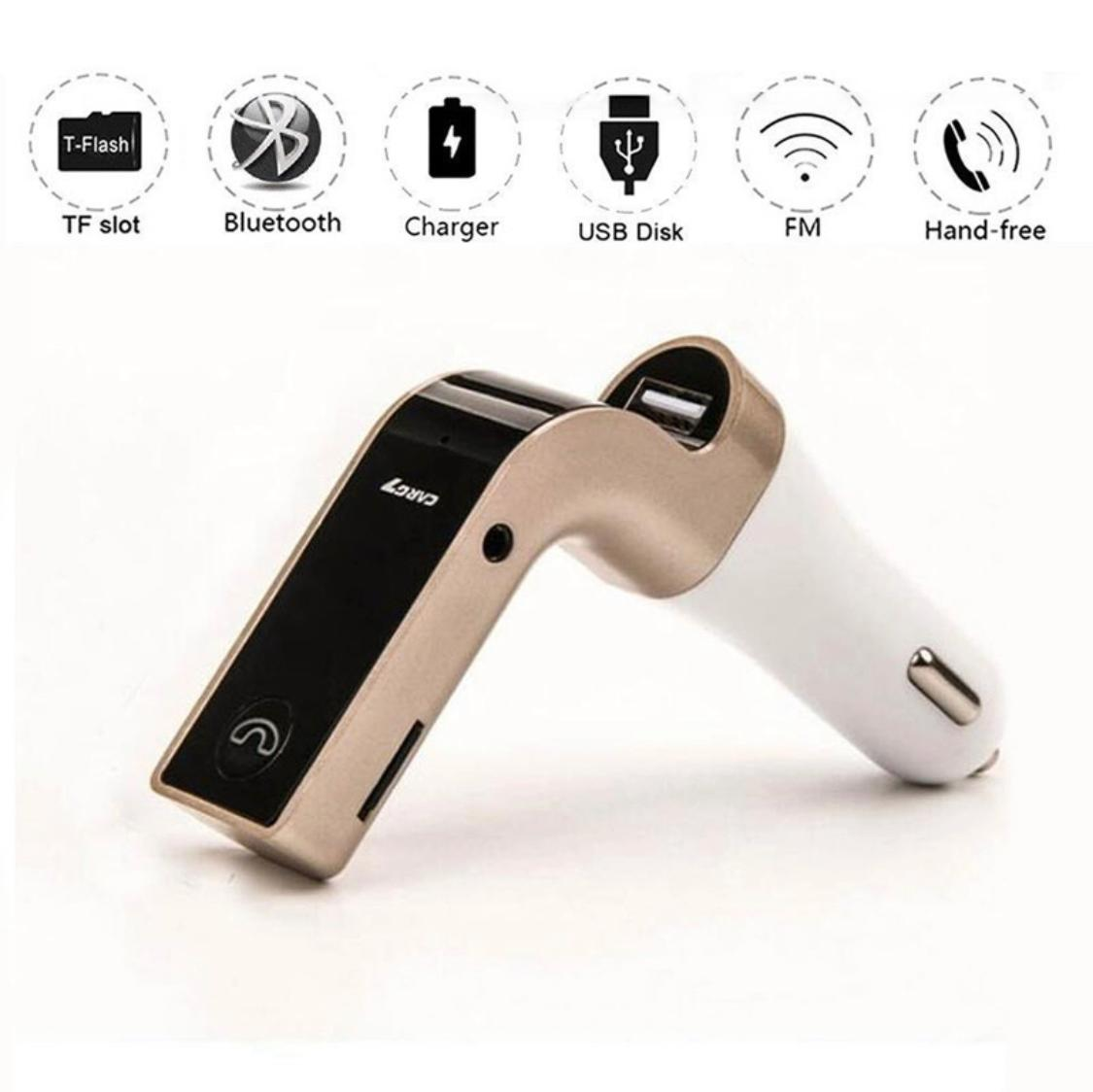 USB Bluetooth AUX Car Kit Handsfree Music Adapter MP3 Player