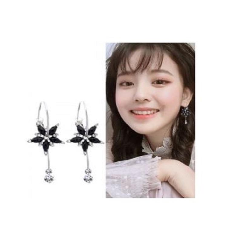Earring Design Flower Tassel Broncos Long Earring