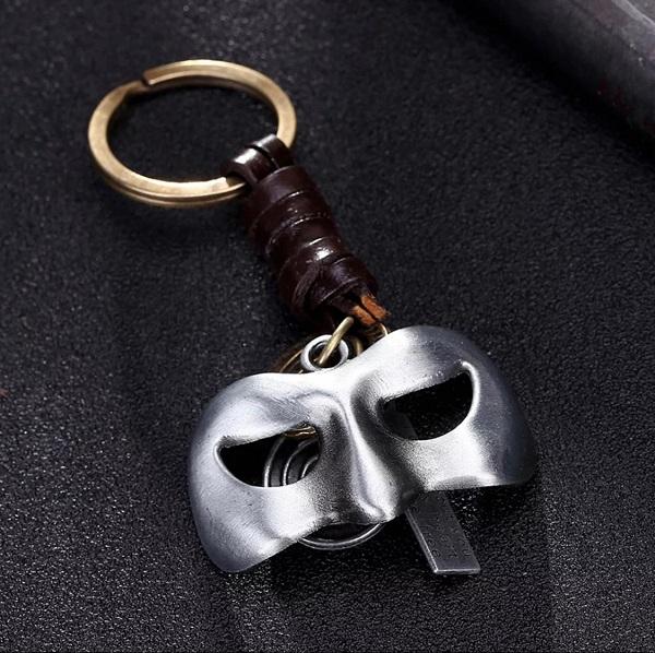 Lantern Mask Key Chain Alloy