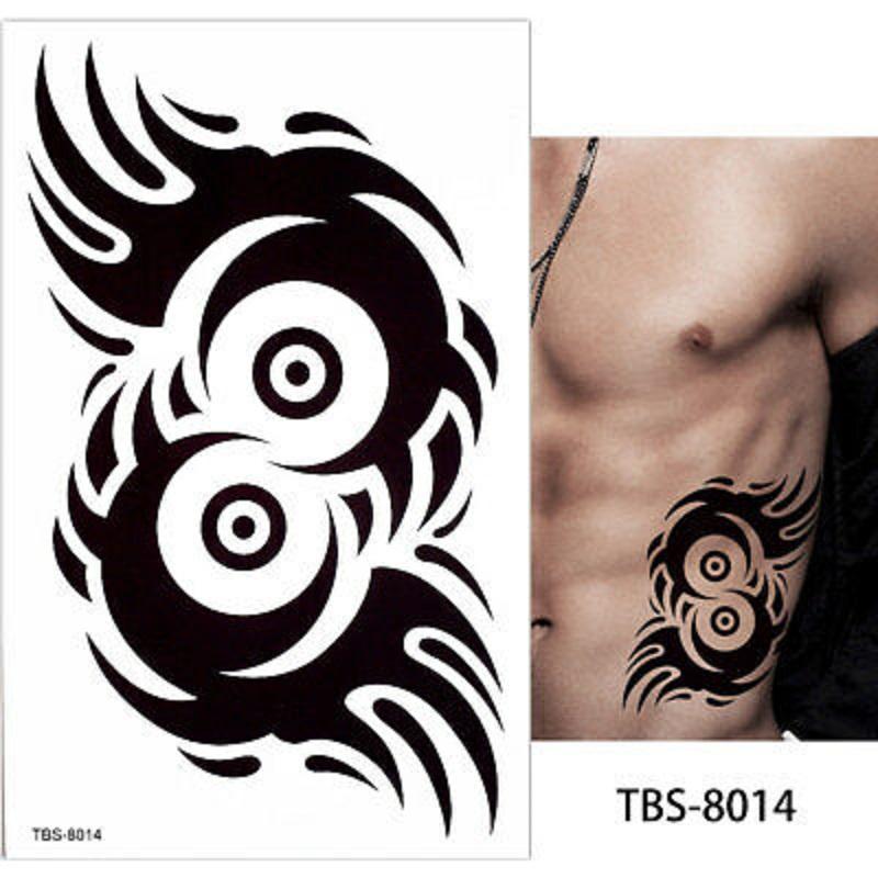 Tribal Motif Temporary Tattoo