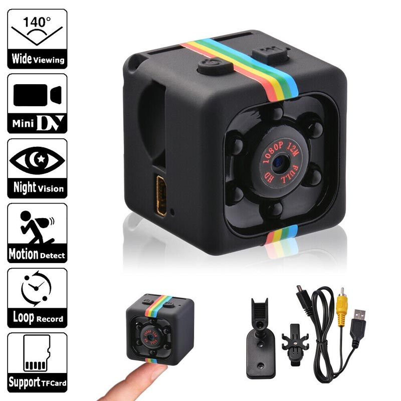 Mini Camera SQ11,1080P HD Night Vision