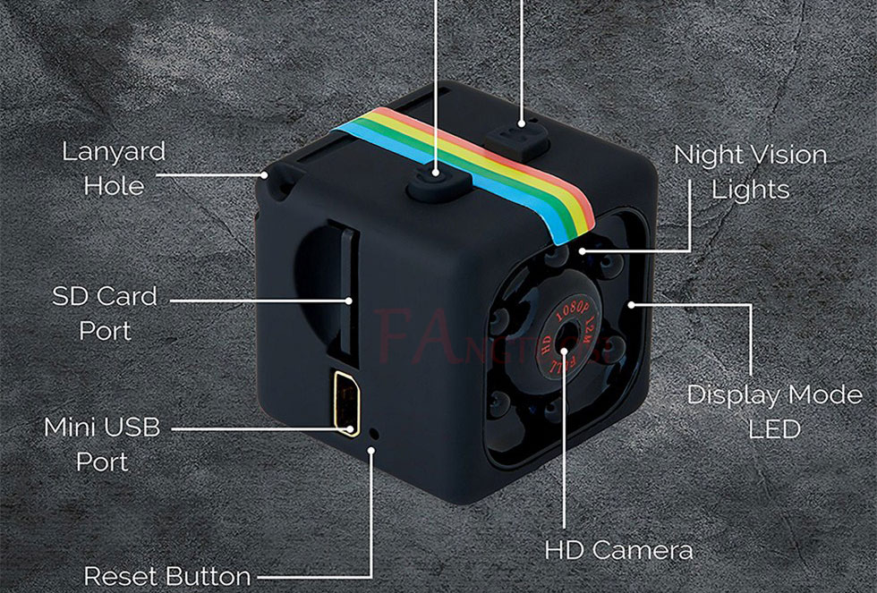 Mini Camera SQ11,1080P HD