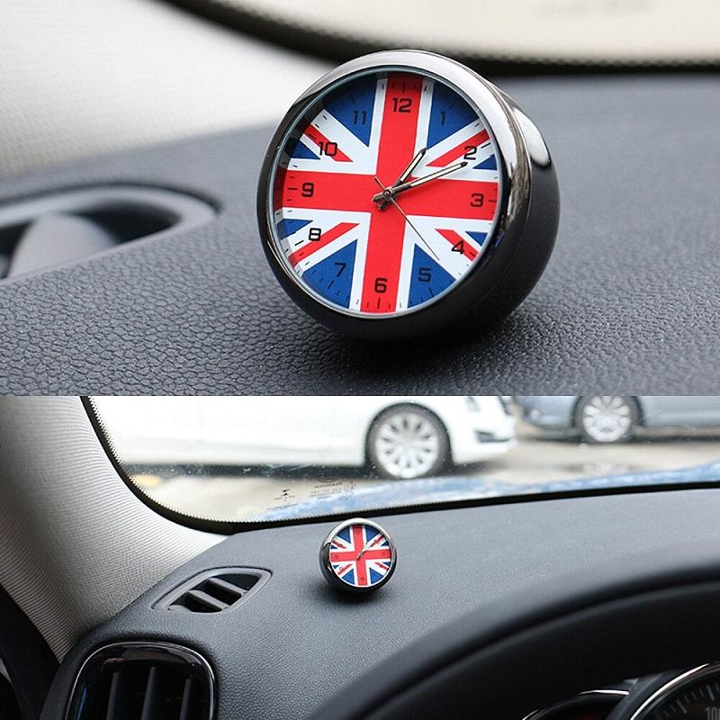 Automotive UK Flag Decoration Clock