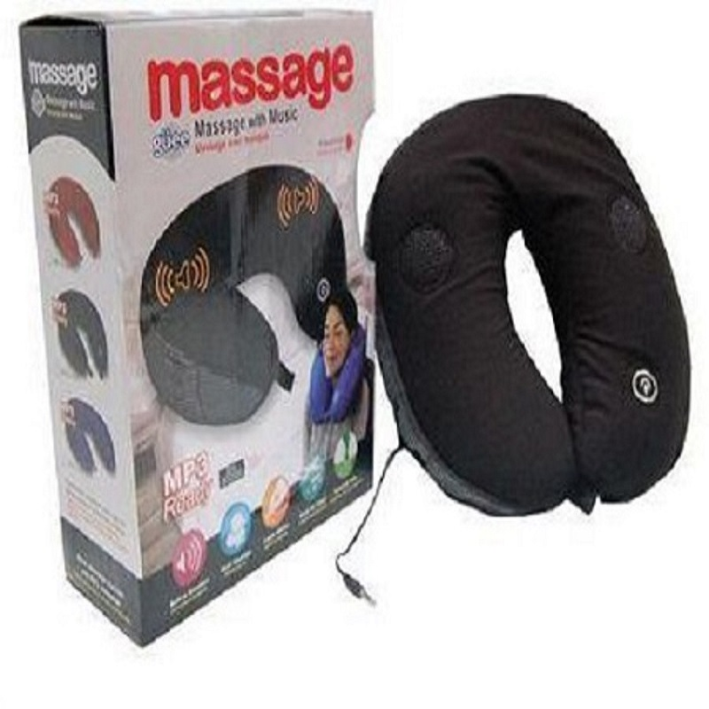 Neck Massage Pillow With Music Mp3