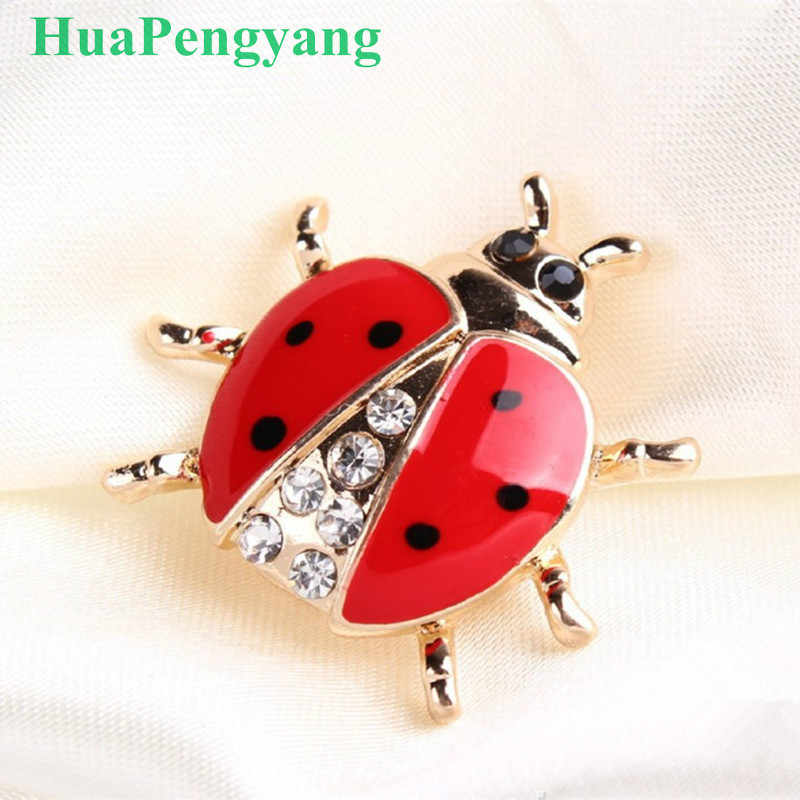 High Grade Hand Crafted Oil Insect Style Brooch