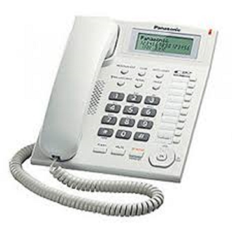 PANASONIC KX-TSC7718CID CALLER ID CORDED PHONE Desktop Phone Landline Phone Telephone Set