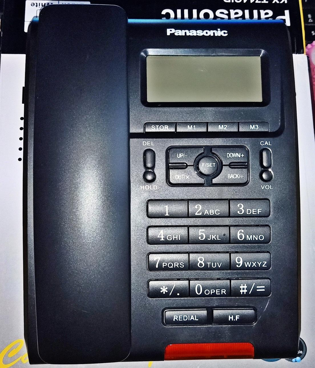 PANASONIC KX-TSC7709CID CALLER ID CORDED PHONE Desktop Phone Landline Phone Telephone Set