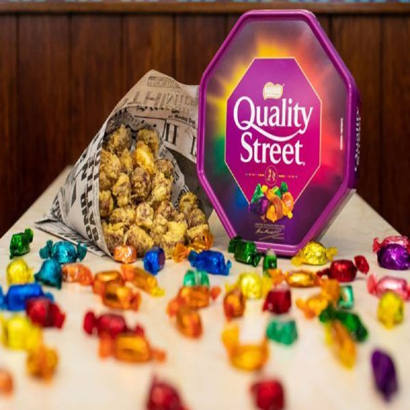 Quality Street Chocolates Box