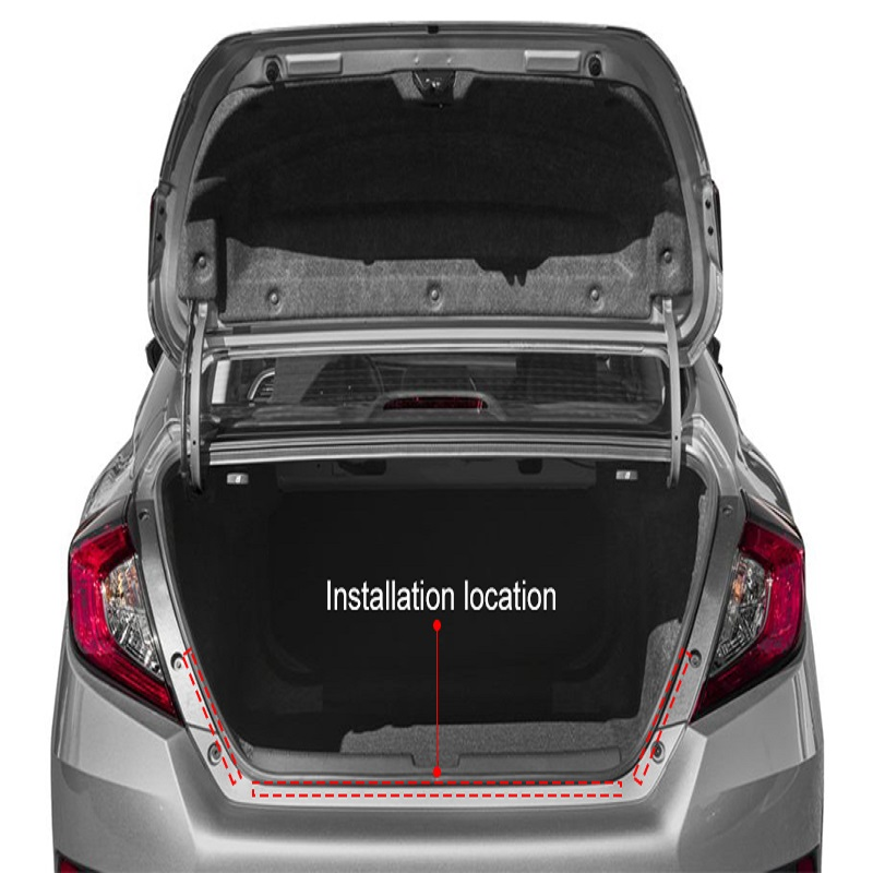 Trunk Light with Side Turn Signals Rear lights Car Braking