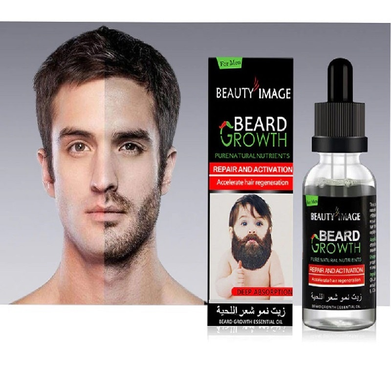Beard Growth Repair and Activation Accelerate Hair Regeneration Fluid Essential Oils