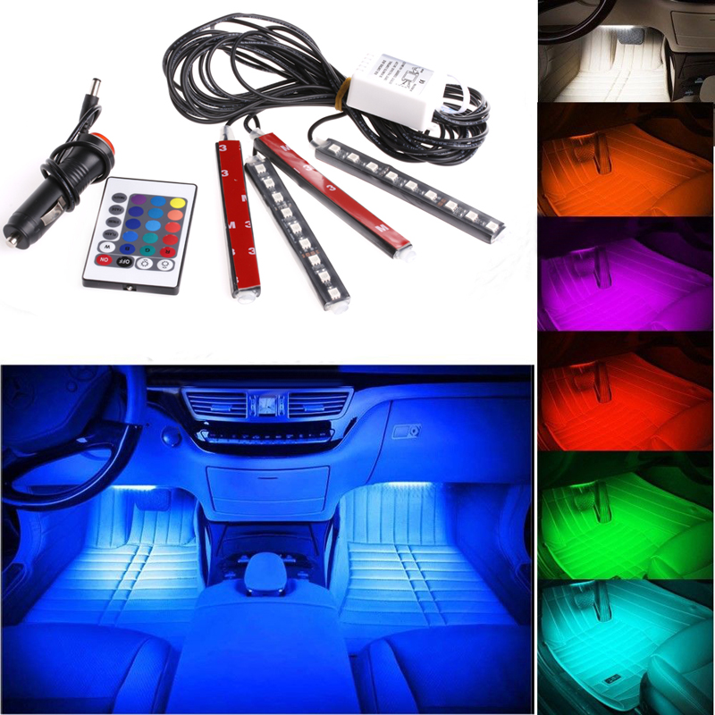 9 LED Neon Interior Light Atmosphere Light