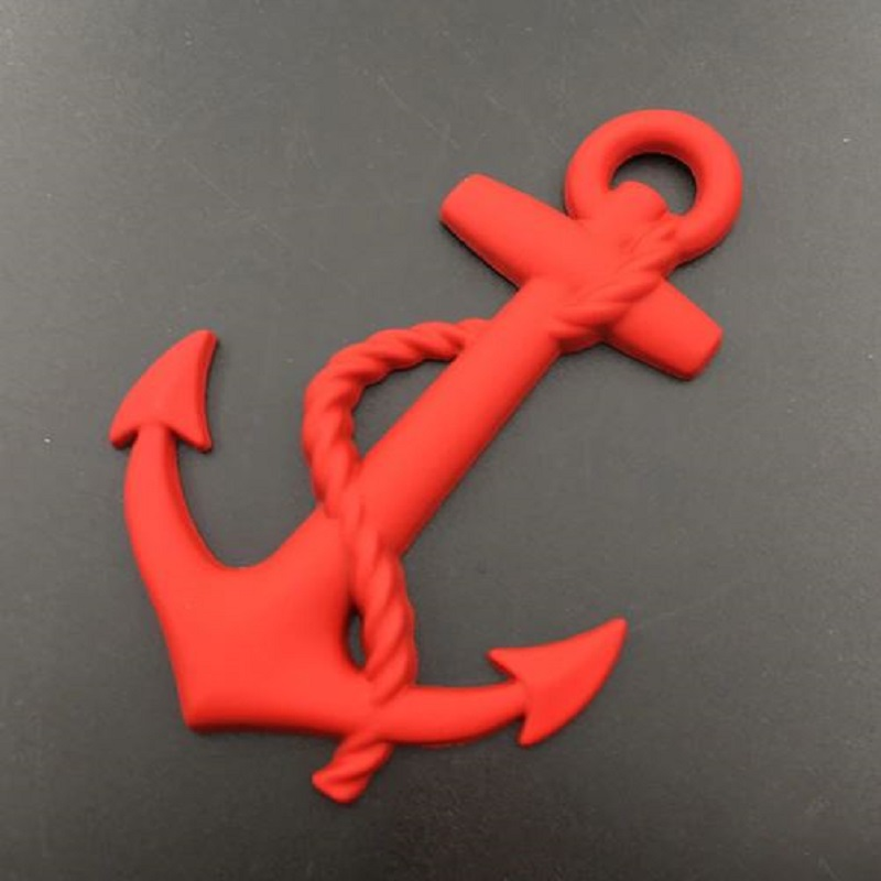 New Anchor 3D Car Decoration Sticker Metal Logo