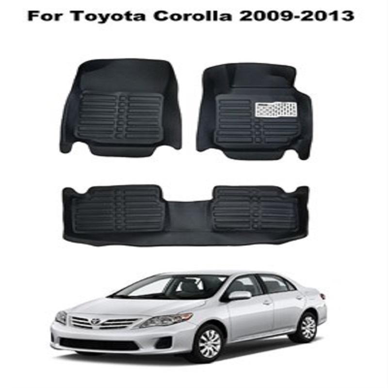 Toyota Corolla 2009 2013 5d Custom Floor Mats Black Auto Transform