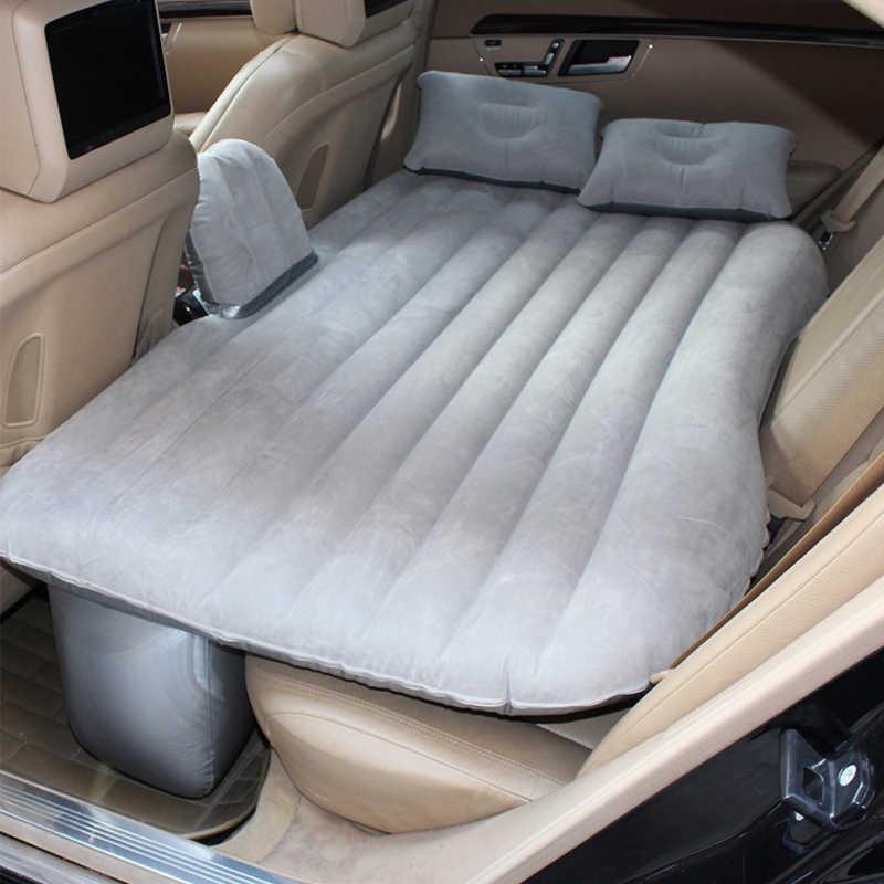 Universal Car Air Mattress Travel Bed Inflatable -Gray