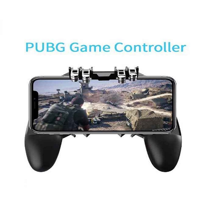 PU-BG Mobile Controller Six Finger Gamepad AK66